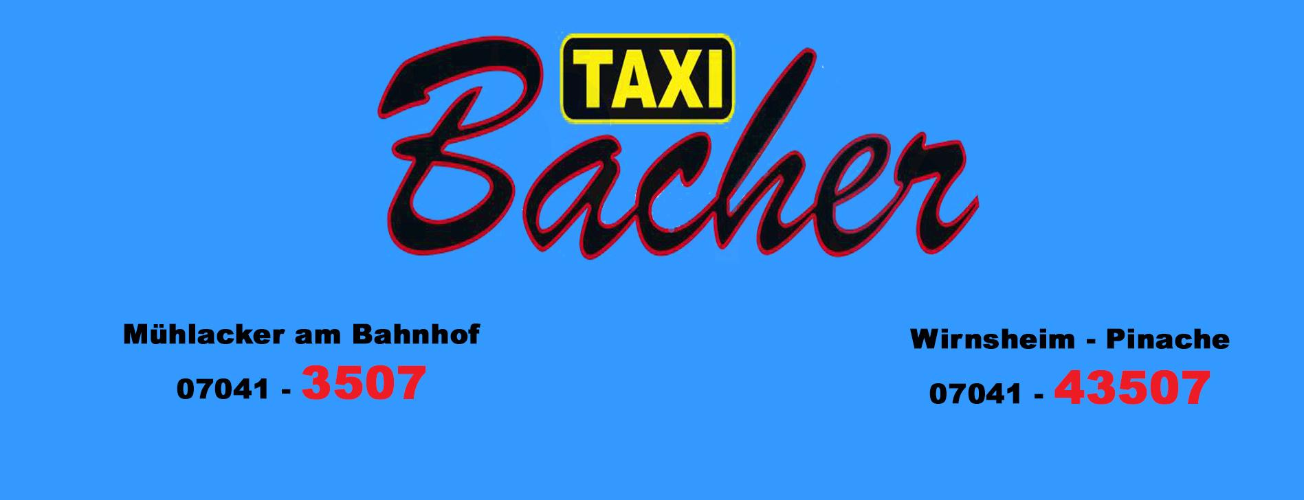 TAxibacher mit telefon